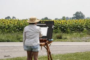 Sunflower Field Artist