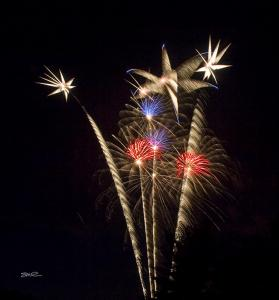 Fireworks Tighe Park