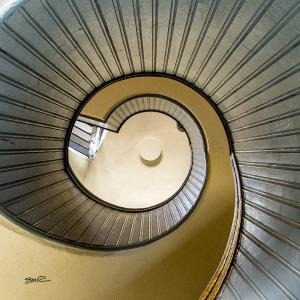 Pt Loma Lighthouse Spiral