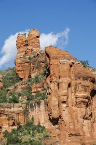 Sedona Red Rock Formation-2