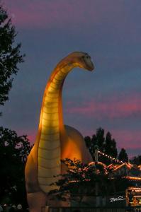 Prehistoric Sunset